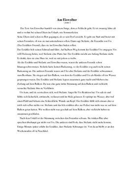 Am Eisweiher | Referat