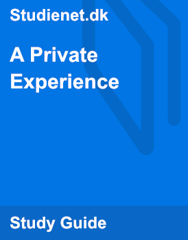 a private experience
