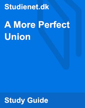 a more perfect union summary obama