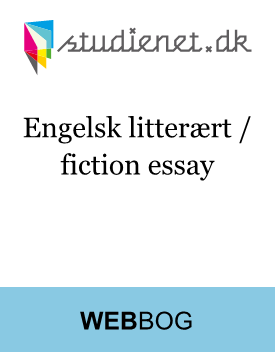 Analytical essay - fiction
