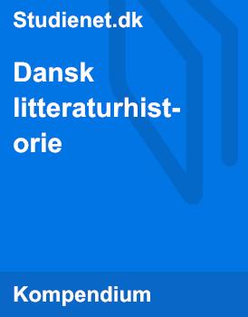 Dansk Litteraturhistorie