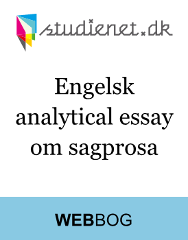 Analytical essay - sagprosa