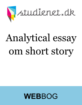 Analytical essay - short story