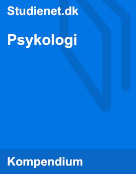 psykologi noter c