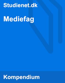 Mediefag | Noter