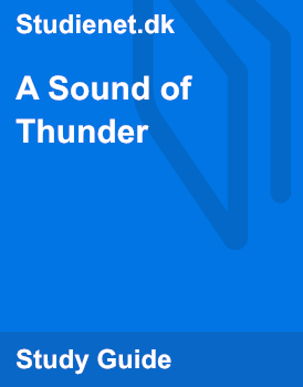 "a synopsis of a sound of thunder by ray bradbury In the story you're about to read, ray bradbury uses vivid imagery and figurative   as you read ""a sound of thunder,"" notice how bradbury's choice of words."