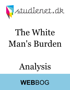 primary source analysis white mans burd The white man's burden questions and answers - discover the enotescom community of teachers, mentors and students just like you that can answer any question you might have on the white man's burden.