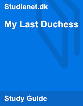 the last duchess analysis