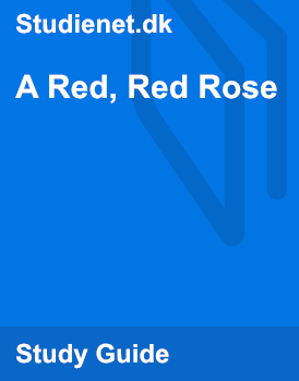 a red red rose by robert burns metaphors
