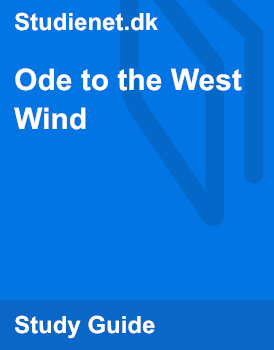 an analysis of percy bysshe shelleys ode to the west wind In ode to the west wind, percy bysshe shelley eloquently expresses his private thoughts about nature and humanity by honoring the virtues and power of the wind.