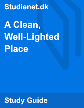 a clean lighted place