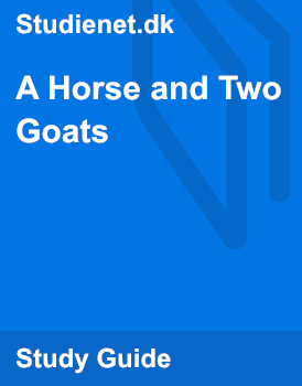 Language of A Horse and Two Goats by R K  Narayan