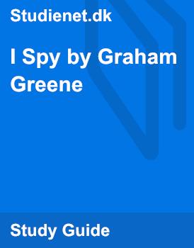 I spy graham greene essay