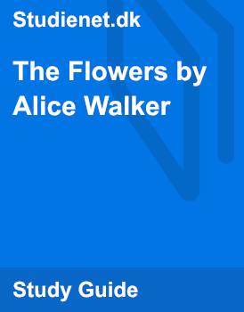 characterization of the flowers by alice walker