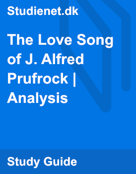critical analysis of the lovesong of j alfred prufrock