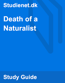death of a naturalist analysis
