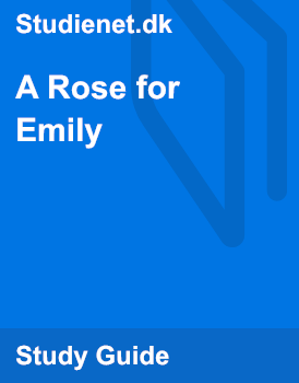 a rose for emily order of events