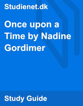 once upon a time nadine gordimer story