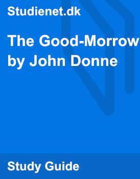 the good morrow