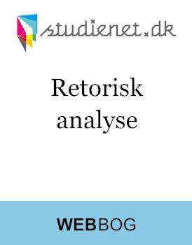 Retorisk Analyse   Model & vejledning