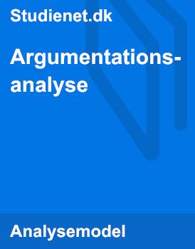 Argumentationsanalyse | Model & Vejledning