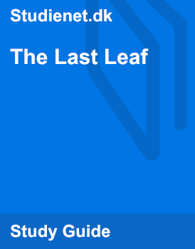 characterization of sue and johnsy the last leaf by o henry