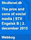 The pros and cons of social media | Paper